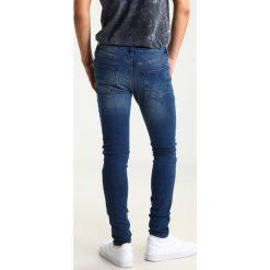Topman Jeans Skinny Fit blue. Niebieskie jeansy męskie Topman. Za 229,00 zł.