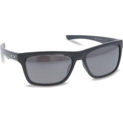 Okulary przeciwsłoneczne OAKLEY - Holston OO9334-1158 Matte Dark Grey/Prizm Black Polarized. Szare okulary przeciwsłoneczne męskie aviatory Oakley, z tworzywa sztucznego. W wyprzedaży za 649,00 zł.