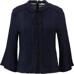 Koszule wiązane damskie: IVY & OAK VALANCE SLEEVE Koszula navy blue