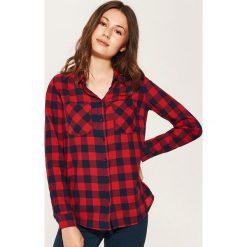 Koszula w kratę - Czerwony. Czerwone koszule wiązane damskie House, l. Za 59,99 zł.