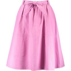 Spódniczki skórzane: Mads Nørgaard SALKA Spódnica trapezowa bright rose