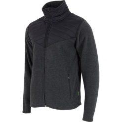 Bluzy męskie: 4f Bluza męska grafitowo-czarna r. S (H4Z17-PLM002)