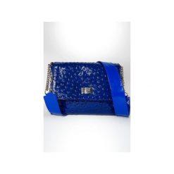 Torebki klasyczne damskie: Mała torebka – kobalt
