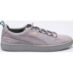 Puma - Buty Suede Big Sean Ash-Ash. Szare buty skate męskie Puma, z gumy, na sznurówki. W wyprzedaży za 319,90 zł.