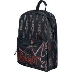 Slipknot Wait And Bleed Plecak czarny. Czarne plecaki męskie marki Slipknot, m, z nadrukiem, z kapturem. Za 121,90 zł.