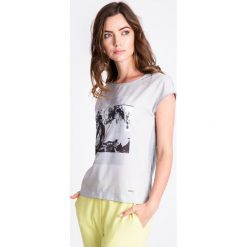 Bluzki damskie: Szara bluzka z motywem kobiet QUIOSQUE