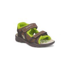 Sandały sportowe Dziecko  Ricosta  ORCO. Brązowe buty sportowe chłopięce marki Ricosta. Za 167,30 zł.
