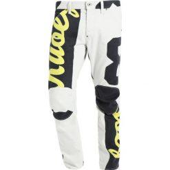 GStar PHARRELL WILLIAMS ELWOOD X52 3D Jeansy Straight Leg magnesium/vibe yellow. Szare chinosy męskie G-Star. W wyprzedaży za 538,85 zł.