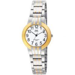 Zegarki damskie: Zegarek Q&Q Damski Q699-404 Biżuteryjny srebrny