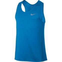 Koszulka do biegania męska NIKE DRI-FIT MILER TANK / 833589-482 - NIKE DRI-FIT MILER TANK. Szare t-shirty męskie Nike, m, do biegania, dri-fit (nike). Za 89,00 zł.