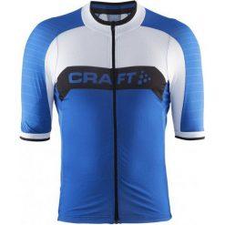 Craft Męska Koszulka Rowerowa Gran Fondo Niebieski M. Białe odzież rowerowa męska marki Craft, m. W wyprzedaży za 259,00 zł.