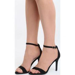 Rzymianki damskie: Czarne Sandały You're Adorable