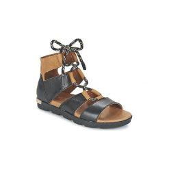 Sandały Sorel  TORPEDA LACE II. Czarne sandały damskie Sorel. Za 455,20 zł.