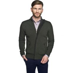 Sweter halifaxe stójka zielony. Szare golfy męskie marki Recman, m, z długim rękawem. Za 229,00 zł.