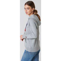 Bluzy rozpinane damskie: Levi's Bluza z kapturem Graphic Sportswear - Grey