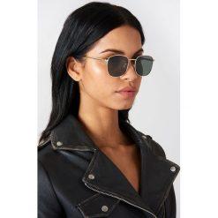 Le Specs Okulary przeciwsłoneczne Neptune - Gold. Brązowe okulary przeciwsłoneczne damskie aviatory Le Specs. Za 303,95 zł.