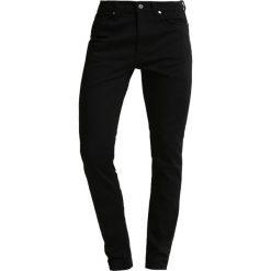 Pier One Jeans Skinny Fit black. Niebieskie rurki męskie marki Tiffosi. Za 129,00 zł.