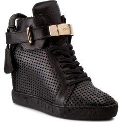 Sneakersy CARINII - B3767/MN E50-000-000-B88. Czarne sneakersy damskie Carinii, z materiału. W wyprzedaży za 299,00 zł.