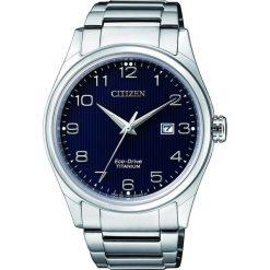 ZEGAREK CITIZEN Titanium BM7360-82M. Niebieskie zegarki męskie CITIZEN, ze stali. Za 980,00 zł.
