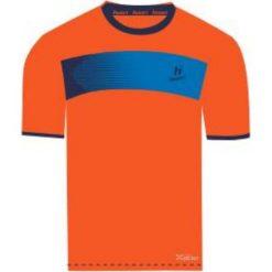Huari Koszulka męska Hubi T-shirt Red Orange/ Medieval Blue r. XL. Czerwone t-shirty męskie Huari, m. Za 32,80 zł.