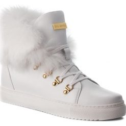 Sneakersy EVA MINGE -  Cangas 4F 18BD1372642EF 102. Białe sneakersy damskie marki Eva Minge, z materiału. W wyprzedaży za 409,00 zł.
