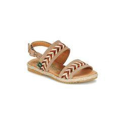 Sandały Dziecko  El Naturalista  SAMOA. Brązowe sandały dziewczęce marki El Naturalista. Za 247,20 zł.
