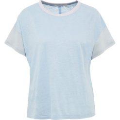 Rag & bone PAYTEN Tshirt z nadrukiem pale. Niebieskie t-shirty damskie rag & bone, m, z nadrukiem, ze lnu. Za 569,00 zł.