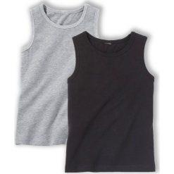 Odzież chłopięca: Komplet 2 gładkich koszulek 3-12 lat