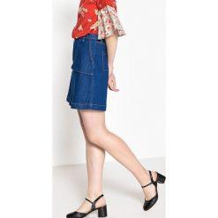 Minispódniczki: Krótka jeansowa spódnica