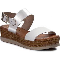 Sandały damskie: Sandały MACIEJKA - ES005-11/00-0 Biały Srebrny