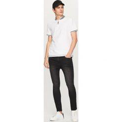 Rurki męskie: Jeansowe spodnie skinny fit – Czarny