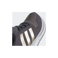 Trampki Dziecko  adidas  Buty Swift Run. Czarne trampki chłopięce marki Adidas, z materiału. Za 279,00 zł.