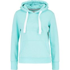 Bluzy damskie: Superdry Bluza z kapturem tropical teal grit