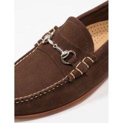 Derby męskie: G. H. Bass & Co. WEEJUN PALM SPRINGS LINCOLN REVERSO Półbuty wsuwane dark brown