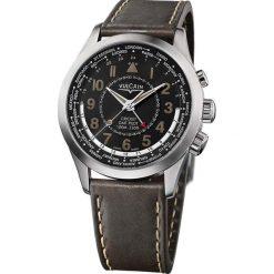 Zegarki męskie: Zegarek męski Vulcain Aviator GMT Steel 100108.333LF