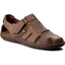 Sandały JOSEF SEIBEL - Paul 15 43215 768 310 Brasil. Brązowe sandały męskie skórzane Josef Seibel. W wyprzedaży za 249,00 zł.