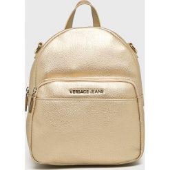 Versace Jeans - Plecak. Szare plecaki damskie Versace Jeans, z jeansu. W wyprzedaży za 549,90 zł.