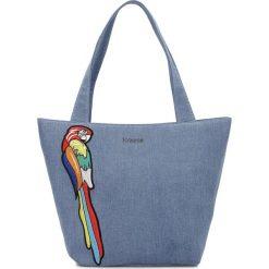 Torby plażowe: Niebieska torba na ramię