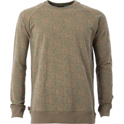 """Bluza """"My Heart Is Jumping"""" w kolorze oliwkowym. Brązowe bluzy męskie rozpinane 4funkyflavours Women & Men, l, z bawełny. W wyprzedaży za 181,95 zł."""