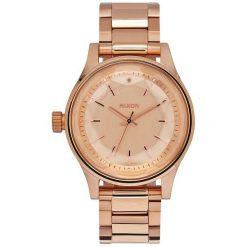 Zegarek damski All Rose Gold Nixon Facet 38 A4091897. Czerwone zegarki damskie Nixon. Za 899,00 zł.