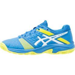ASICS GELBLAST 7 Obuwie do piłki ręcznej directoire blue/energy green/white. Niebieskie buty do koszykówki damskie marki Asics, z gumy. W wyprzedaży za 199,20 zł.