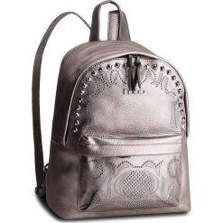 Plecak NOBO - NBAG-F0780-C019 Srebrny. Szare plecaki damskie Nobo, ze skóry ekologicznej, klasyczne. W wyprzedaży za 179,00 zł.