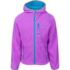 Kurtka polarowa ''Borgund'' w kolorze fioletowo-błękitnym. Fioletowe kurtki dziewczęce marki Jack Wolfskin, z hardshellu. W wyprzedaży za 95,95 zł.