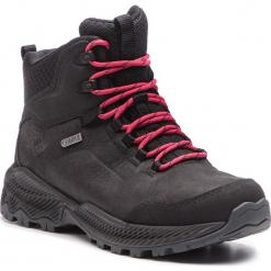 Trekkingi MERRELL - Forestbound Mid Wp J77292 Black. Czarne buty trekkingowe damskie Merrell. W wyprzedaży za 339,00 zł.