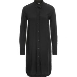 Długa  bluzka bonprix czarny. Czarne bluzki longsleeves marki bonprix, eleganckie. Za 89,99 zł.