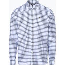 Koszule męskie na spinki: Lacoste – Koszula męska, czarny