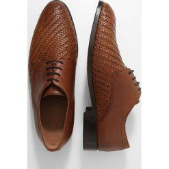 Buty wizytowe męskie: Peralston Eleganckie buty cognac
