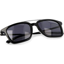 Okulary przeciwsłoneczne damskie aviatory: Okulary przeciwsłoneczne BOSS – 0305/S Black 807