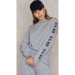 Bluzy damskie: NA-KD Trend Bluza NA-KD – Grey