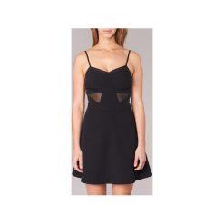 Sukienki krótkie Morgan  RENE. Sukienki małe czarne marki Morgan, z krótkim rękawem. Za 248,50 zł.